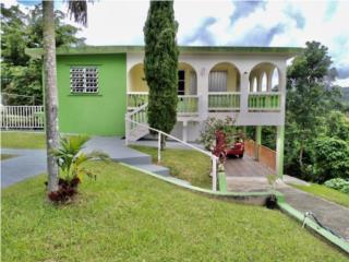 Casa en Caguana, 3 cuartos y 2 baños $165,000