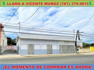 TREMENDO EDIFICIO  COMERCIAL CENTRO DEL PUEBLO