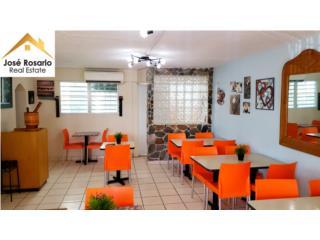 Cafeteria equipada en el centro de Bayamon