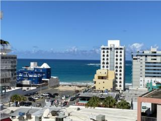 Elbal Tower-Condado-Ocean View 2b,1b,pool-$395K