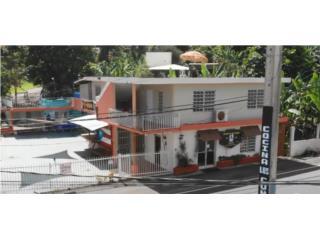 Restaurante con 3 apartamentos en Utuado