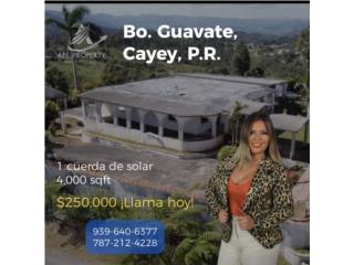 Hacienda perfecta para Inversion! Guavate