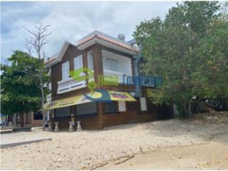 Oceanfront Building, Airbnb and Restaurant