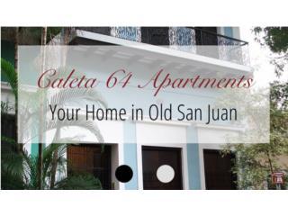 Caleta 64 - Old San Juan, 5 Apartments