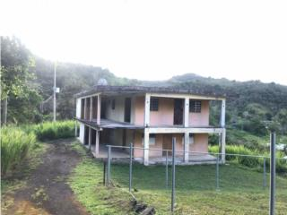 Casa con 1 cuerda de terreno