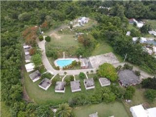 10 cabanas con pool / cancha / casa