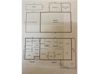 Tres unidades vivienda separadas MULTIPLE FAM