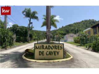 URB. LOS MIRADORES DE CAYEY, TERRENO EN CAYEY