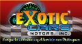 EXOTIC CARS MOTORS