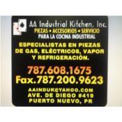 AA Industrial Kitchen Inc Puerto Rico