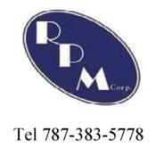 RPM Corp, Sellado de Techo, Tel 787-383-5778 Puerto Rico