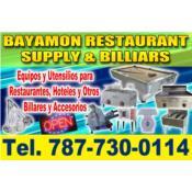 BAYAMON RESTAURANT SUPPLY & BILLIARS Puerto Rico