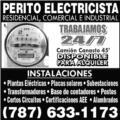 PERITO ELECTRICISTA 24/7 Servicio de Electricista