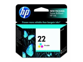 HP #22 Tri-Color Liquidacion, Puerto Rico