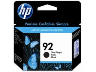 HP #92NEGRO (C9362W), Puerto Rico