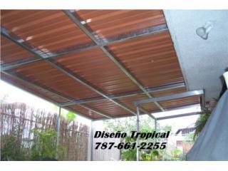 Techo En Aluminio Terraza