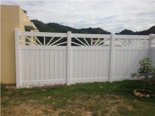 Verja PVC Modelo: Rayos del Sol, Puerto Rico