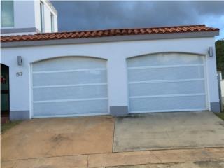 Puerta garage modelo perforados nuevos 2016, Puerto Rico