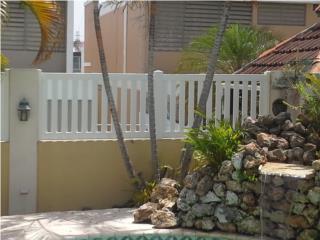 Verja PVC Modelo: Tabla-Style, Puerto Rico