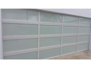 Puerta de Garaje en Aluminio, Puerto Rico