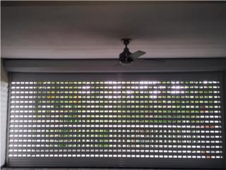 Roll up ventilados vista interior, Puerto Rico