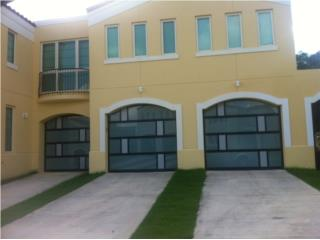 Puerta garage modelo combinadas nuevos 2015, Puerto Rico