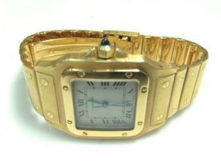 Precioso reloj Cartier Santos original, Puerto Rico