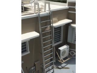 Escaleras para accesos en aluminio, Puerto Rico