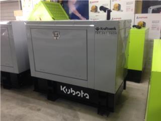 12 kw **Motor Kubota** Diesel con Garant�a, Puerto Rico
