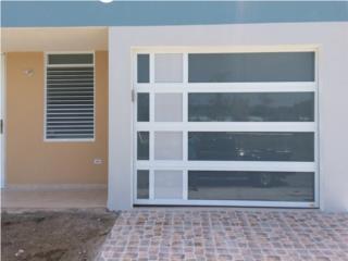 Puerta garage modelo exclusivos luxury, Puerto Rico