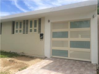 Puerta garage modelo luxury combinada 2016, Puerto Rico
