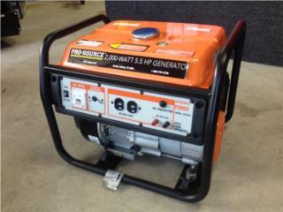 Generador Gasolina 2,000w **Garantia**, Puerto Rico