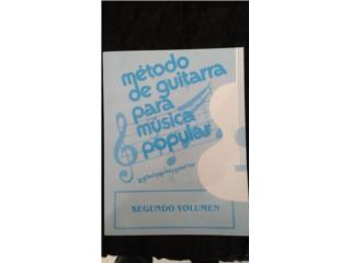 METODO DE GUITARRA POPULAR PILO SUAREZ NUM 2, Puerto Rico