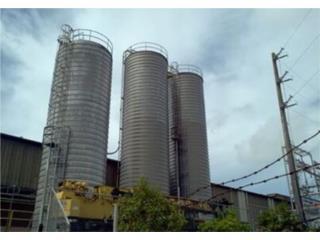 Cilos en aluminio de 55,000 galones, Puerto Rico