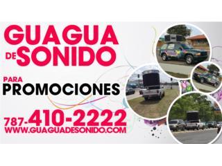 Alquiler de Guaguas de Sonido!!, Puerto Rico