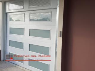 Puerta insulada con cristal blanco, Puerto Rico