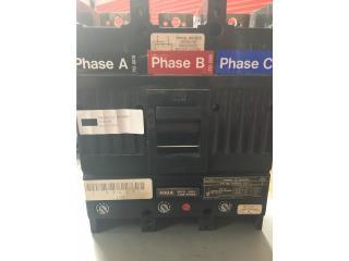 GE Breaker TJJ436400 400 Amp 3PH 600V , Puerto Rico