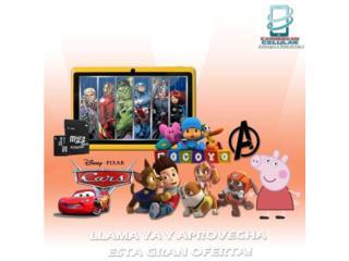 Tabletas 4000 juegos mas TV Disney y pelicula, Puerto Rico