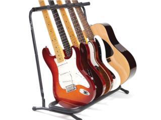 Fender Multiple Guitar Stand for 5 Guitars, Puerto Rico