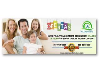 Membranas Danosa 10 años de Garantía , Puerto Rico