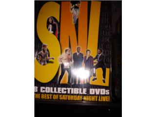 Saturday Nite Live, Best of... Colección dvd, Puerto Rico
