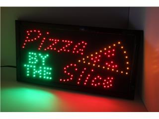 LED Pizza by the Slice, Puerto Rico
