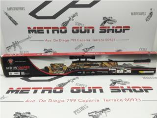 Hatsan Mod 125C Sniper Air rifle .22 cal , Puerto Rico