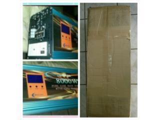 power inverter 110/220v 8000/32000w cargador , Puerto Rico