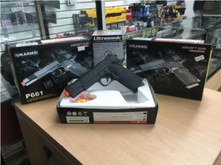Ukarms pistola Airsoft gun bbs $17.95 , Puerto Rico