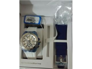 TECHNOMARINE CRUISE ORIGINAL 46MM AZUL BLANCO, Puerto Rico