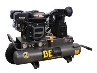 8 gallon WHEELED gas compressor 210cc Powerea, Puerto Rico