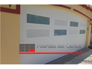 Puerta de Garaje Customizada a su Gusto, Puerto Rico