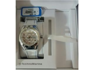 TECHNOMARINE CRUISE MONOGRAM 44MM SILVER, Puerto Rico