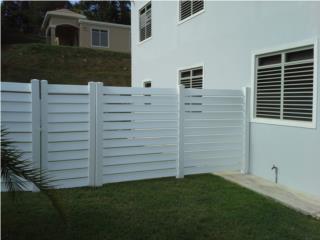 Verja PVC Modelo: Louver Style, Puerto Rico
